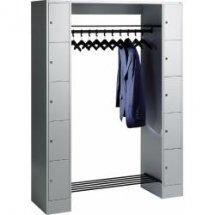 Offene garderobe f r 10 personen for Offene garderobensysteme